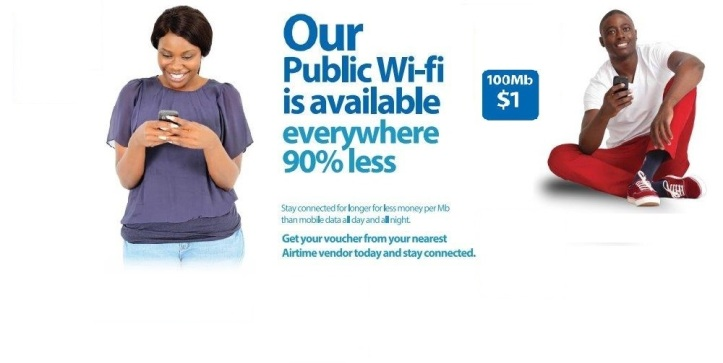 The Web Banner on the TelOne website