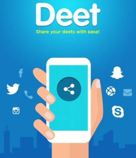 Deet App Contact feature