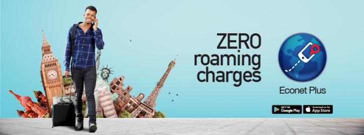 Econet plus App - Zero Roaming Charges