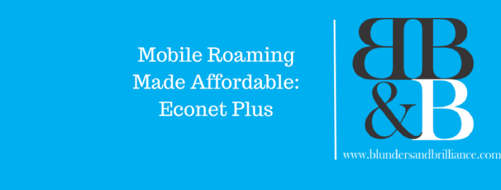 Roaming made Affordable Econet Plus banner