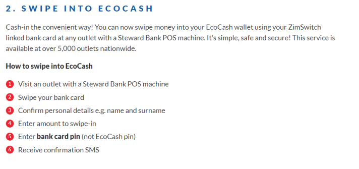 Swipe_to_ecocash_Steps